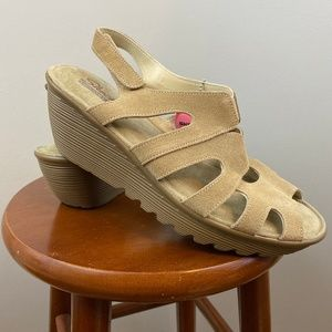 Skechers Memory Foam Wedge Sandals 11